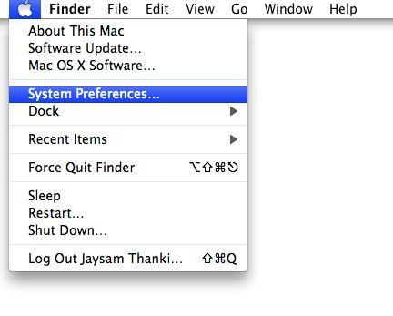 Setup VPN in Mac OS X - 1