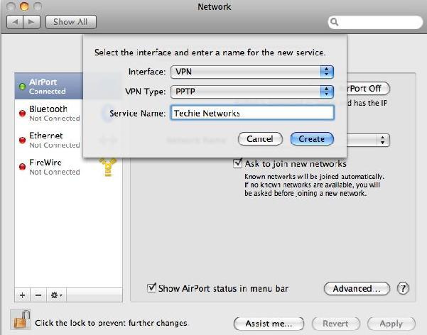 Setup VPN in Mac OS X - 8