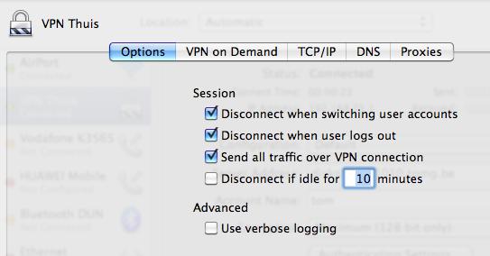 Setup VPN in Mac OS X - 9